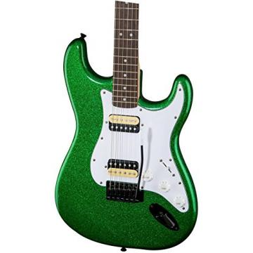 Squier Affinity Series Stratocaster HH with Tremolo Electric Guitar Candy Green
