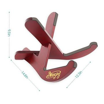 Mugig Musical Instrument Stand with Two Y Shaped Pieces for Guitar
