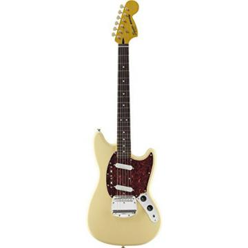 Squier by Fender Vintage Modified Mustang Electric Guitar, Rosewood Fingerboard, Vintage White
