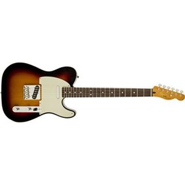Squier by Fender Classic Vibe Telecaster Electric Guitar Custom - 3-Color Sunburst - Rosewood Fingerboard