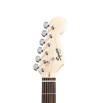 Squier by Fender Sunburst Electric Guitar Kit - Includes: Stand, Strap, Gig Bag, Amp, Cable, Tuner, Strings & Pick Sampler