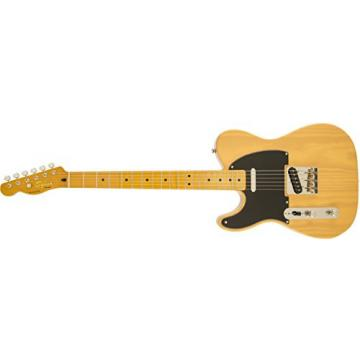 Squier by Fender Classic Vibe 50's Left Hand Telecaster Electric Guitar - Butterscotch Blonde - Maple Fingerboard
