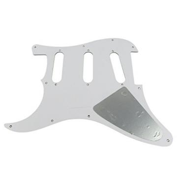 IKN Boa Stripe 3Ply SSS Guitar Pickguard Pick Guard & Back Plate With 20 Screws fits Strat/SQ Style