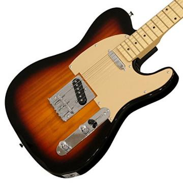 Sawtooth ST-ET-SBW Electric Guitar, Sunburst with Aged White Pickguard