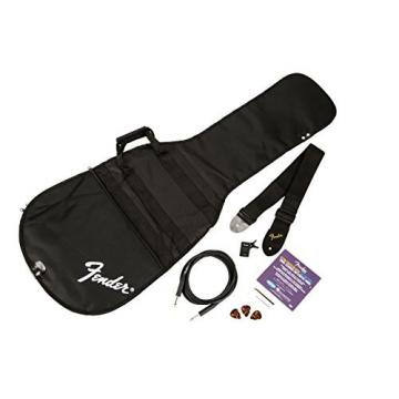 Fender Squier P Bass Pack with Rumble 15 Amp  - Black