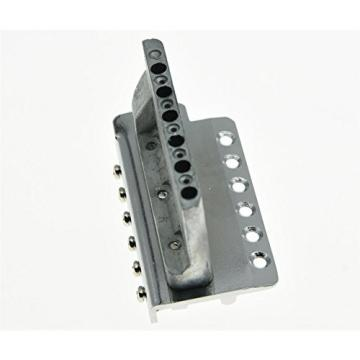 KAISH Chrome ST Strat Style Guitar Tremolo Bridge Locking System for Fender Squier Affinity
