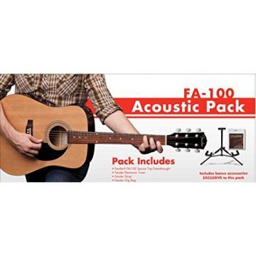 Fender Acoustic Guitar FA-100 Beginner Pack