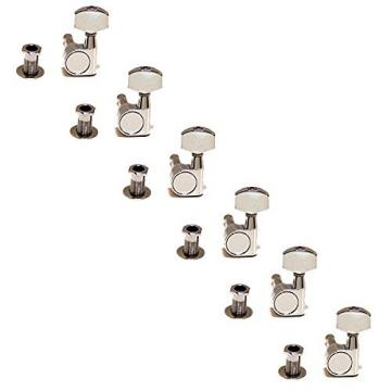 Genuine Fender Left Handed Squier Affinity Sealed Gear Tuning Machines - Chrome