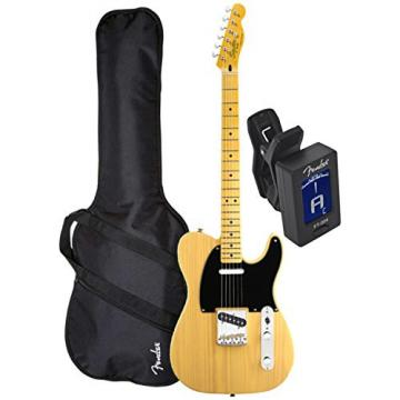 Squier Classic Vibe Tele 50's BTB Electric Guitar w/ Fender Gig Bag and Tuner