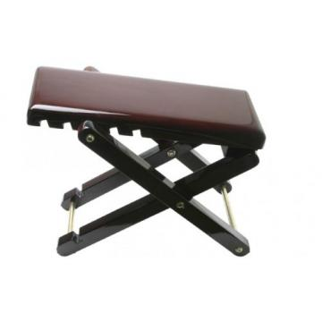Wood Foot Rest for Guitar Players - Mahogany