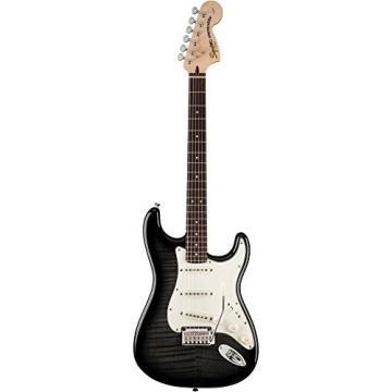 Standard Stratocaster FMT Transparent Ebony