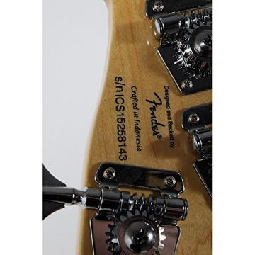 Squier Deluxe Dimension Bass V Maple Fingerboard Five-String Electric Bass Guitar Level 2 Black 190839010636