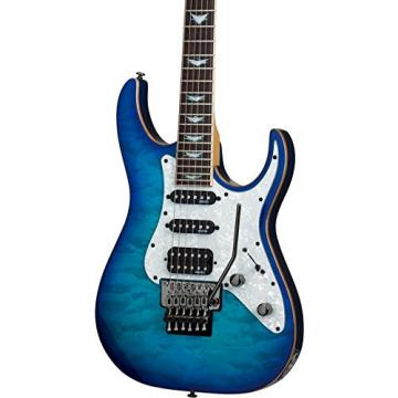 Schecter Guitar Research Banshee-6 FR Extreme Solid Body Electric Guitar Ocean Blue Burst