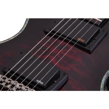 Schecter 1778 Solid-Body Electric Guitar, Black Cherry
