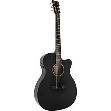 Martin X Series Custom X-000CE Auditorium Acoustic-Electric Guitar Black
