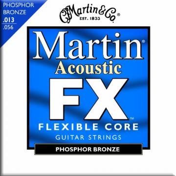 Martin FX750 Phosphor Bronze Acoustic Guitar Strings, Medium