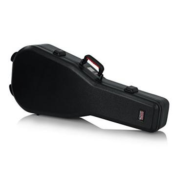 Gator Cases GTSA Series Acoustic Dreadnought Guitar Case with TSA Locking Latch