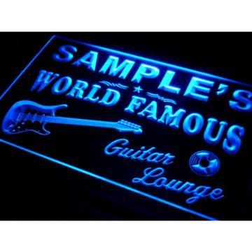 pf1016-b Martin's Guitar Lounge Beer Bar Pub Room Neon Light Sign