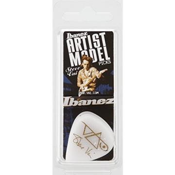 Ibanez B1000SVRWH Steve Vai Signature Picks 6 Pack, White