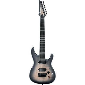 Ibanez Iron Label S Series SIX7FDFM 7-String Electric Guitar Dark Space Burst