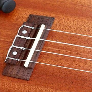 5packs Nylon Strings For Acoustic Guitar (Pack Of 4,White)