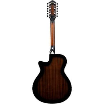 Ibanez AEG1812II AEG 12-String Acoustic-Electric Guitar Dark Violin Sunburst