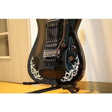 Inlay Sticker Decals for Guitar Bass - L&R Set Gothic Line -WS