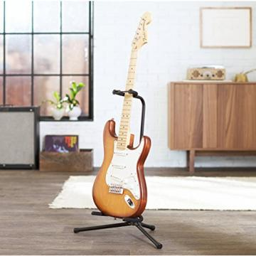 AmazonBasics Tripod Guitar Stand with Security Strap