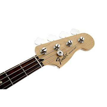 Fender Standard Precision Electric Bass Guitar - Rosewood Fingerboard, Black