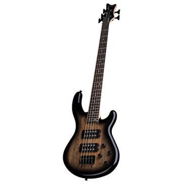 Dean E2 5 SM CHB Edge 2 5-String Bass Guitar, Charcoal Burst