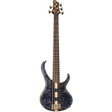 Ibanez BTB1605E Premium 5-String Electric Bass Guitar (Deep Twilight Flat)