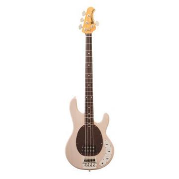Ernie Ball Music Man Classic 4-String Bass 120-TW-15-W3-CS-C1 Birdseye Maple Neck Bass Guitar, Trans White