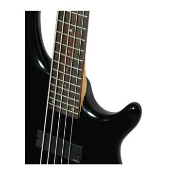 Dean E5 EMG CBK Edge 5-String Bass Guitar with EMGs, Classic Black