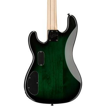 ESP LMM4FMDSTGSB Bass Guitar, Dark See Thru Green Sunburst