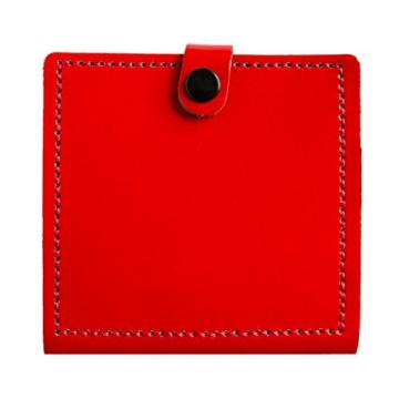 Genuine Leather Guitar Plectrum Pic Wallet Accessory with 10 Free Plectrums