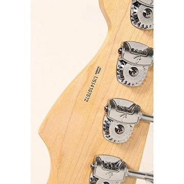 Fender American Standard HH Dimension Bass IV Rosewood Fingerboard Electric Bass Guitar Level 2 Black 190839071064