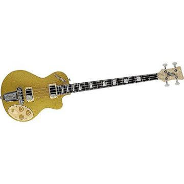 Italia Maranello Electric Bass Guitar Blue Sparkle
