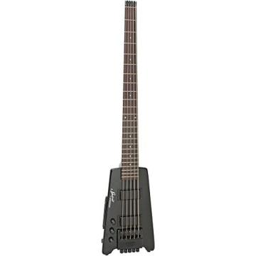 Steinberger  Spirit XT-25 Solid Body Left Handed Electric 5 String Bass Guitar, Black