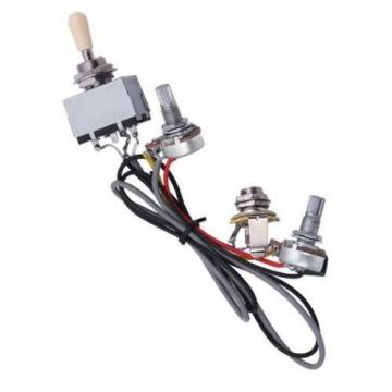 Surfing Electric Guitar 2 Humbucker Wiring 3way Toggle Switch and 1v1T electronic 500k