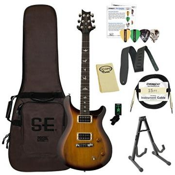 Paul Reed Smith Guitars ST22TS-Kit01 PRS SE Standard 22 Tobacco Sunburst Electric Guitar with Gig Bag & ChromaCast Accessories