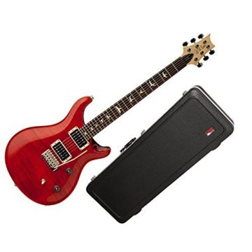 PRS CE24 Electric Guitar Pattern Thin Bolt on Neck Ruby w/Hard-Shell Case