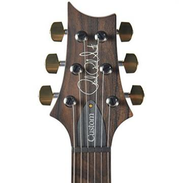 PRS CME Wood Library Custom 24 10 Top Quilt Charcoal w/Pattern Regular Neck