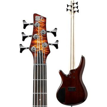 Ibanez SR405EQM 5-String Electric Bass Guitar (Dragon Eye Burst)