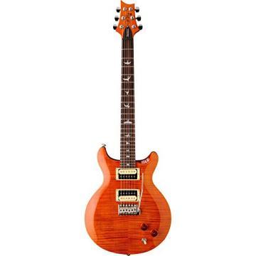 PRS SE Carlos Santana Electric Guitar Orange