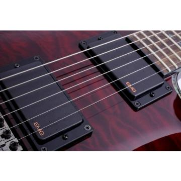 Schecter Hellraiser C-1 Electric Guitar (Black Cherry)