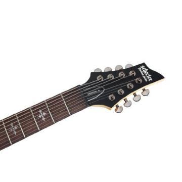 Schecter 3261 Demon-8 SBK Electric Guitars