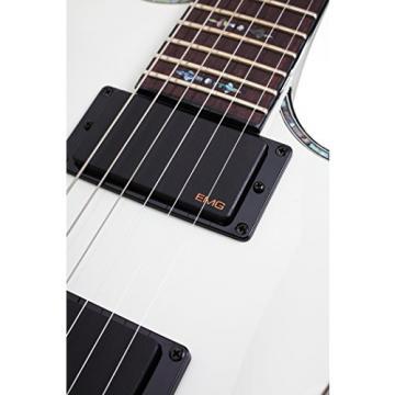 Schecter Guitar Research Hellraiser C-1 FR Electric Guitar - Gloss White