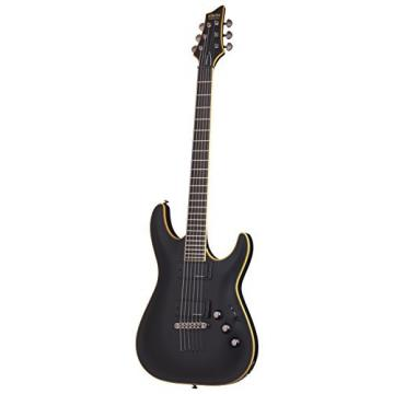Schecter Blackjack ATX C-1 Electric Guitar (Aged Black Satin)