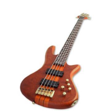 Schecter Stiletto Studio-5 Electric Bass (5 String, Honey Satin)