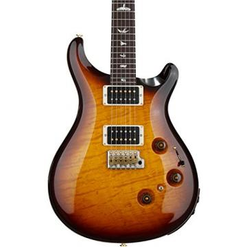 PRS Custom 24 Piezo 10-Top - McCarty Tobacco Sunburst with Pattern Regular Neck